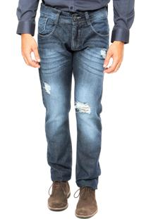 Calça Jeans Biotipo Reta Azul