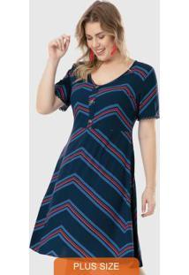 Vestido Azul Marinho Curto Renda Wee!