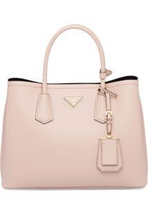 Prada Top Handles Tote Bag - Rosa
