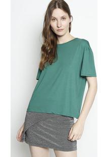 Camiseta Lisa - Verde Escurocanal