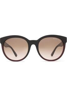 Óculos De Sol Michael Kors Cartagena Mk Feminino - Feminino-Preto