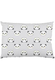 Fronha Era Uma Vez Estampada Panda Bambi Cinza