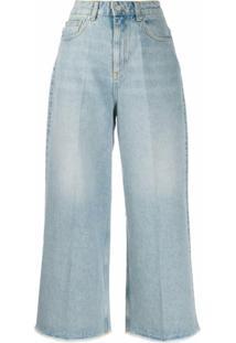 Fiorucci Calça Jeans Pantalona Sara - Azul