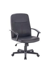 Cadeira Office Byartdesign Briston Preto