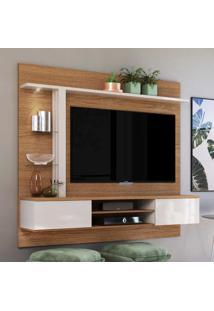 Painel Para Tv Até 60 Polegadas Salinas Natura Real/Off White - Colibri Móveis