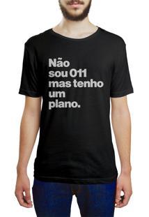 Camiseta Hunter Plano Preta