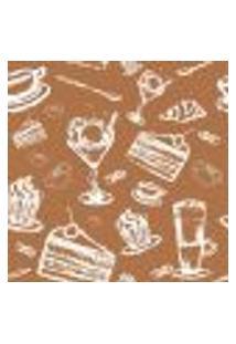 Papel De Parede Autocolante Rolo 0,58 X 5M - Bolo Sorvete Cozinha 285900047