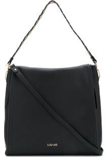 Liu Jo Large Shoulder Bag - Preto