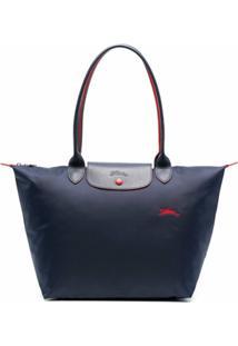 Longchamp Bolsa Tiracolo Le Pliage Pequena - Azul
