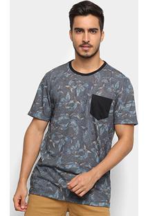 Camiseta Mcd Especial Snake Cicada Masculina - Masculino-Azul