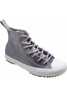 Tênis Converse All Star Boot Hi Cinza Ametista Ct13940002 - Tricae