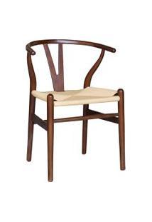 Cadeira Valentina Madeira Escura Rivatti Marrom