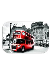Tapete Decorativo Wevans London 40Cm X 60Cm Preto