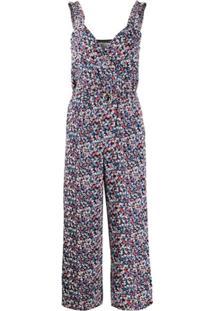Michael Michael Kors Floral-Print Jumpsuit - Rosa