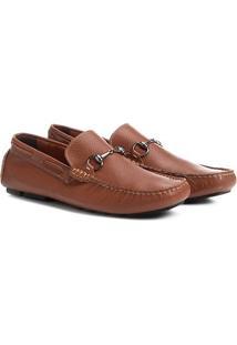 Mocassim Shoestock Ferragem Dupla Masculino - Masculino