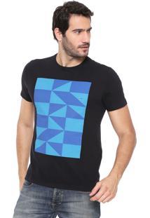 Camiseta Aramis Blocks Preta