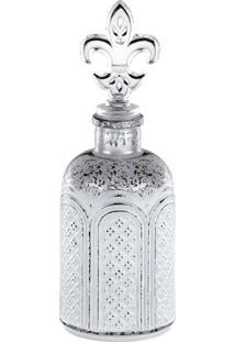 Garrafa Perfumaria Decorativa Antique I Prata