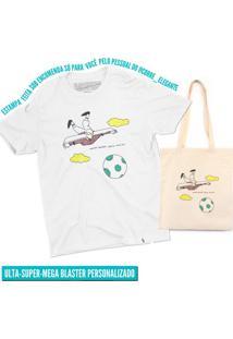 Corre Elegante - Bolsa De Lona + Camiseta Basicona Unissex