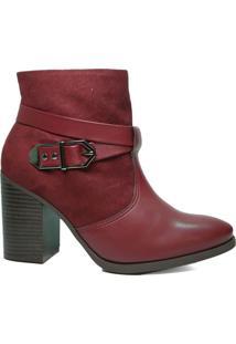 Bota Feminina Ankle Boot Ramarim Cano Baixo 19-16101