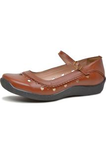 Sandália Feminina Boneca Touro Boots Chocolate - Kanui