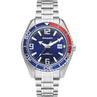 d908e2862fc Relógio Akium Masculino Aço - G7082 Ss Vd53 Blue