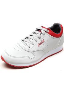 Tênis Coca Cola Shoes Jogger Bege