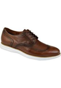 Sapato Oxford Constantino Ventura Masculino - Masculino-Marrom