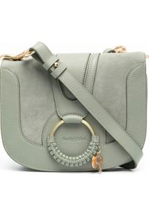 See By Chloé Woven Ring Crossbody Bag - Verde