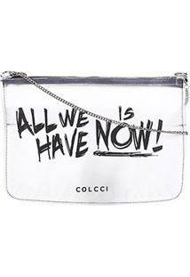 Bolsa Transversal Colcci All We Have Feminina - Feminino-Preto