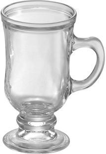 Caneca De Cappuccino Wheaton Vidro Transparente 115Ml