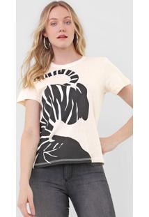 Camiseta Forum Zebra Off-White - Kanui