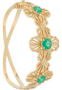 Karina Mouadeb X Grifith Bracelete De Ouro 18K - Dourado