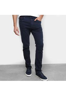 Calça Jeans Skinny Tommy Jeans Básica Modern Tapered Masculina - Masculino-Azul