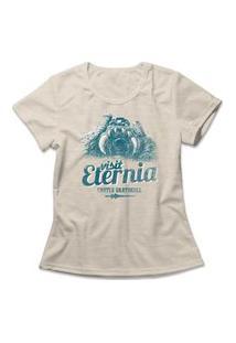 Camiseta Feminina Visit Eternia Bege