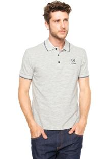 Camisa Polo Sommer Listras Cinza