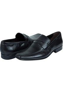 Sapato Social Masculino De Couro Preto Upper - 39