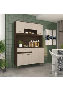 Cozinha Compacta B114 Briz 7 Portas 1 Gaveta