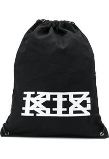 Ktz Drawstring Backpack - Preto