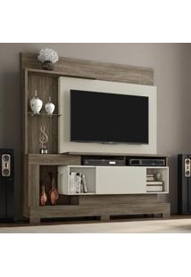 Estante Para Tv Até 50 Polegadas 1 Porta Nt1060 Canela/Areia - Notável