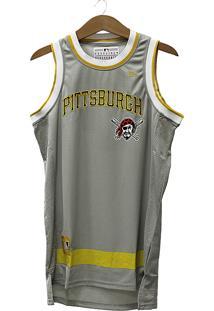 Regata New Era Basketball Stripes Pittsburgh Pirates