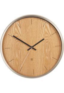 Relógio De Parede Madera Natural