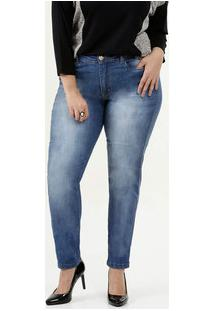 Calça Feminina Skinny Plus Size Razon