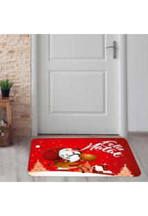 Tapete De Natal Para Porta Feliz Natal ÚNico - Multicolorido - Dafiti