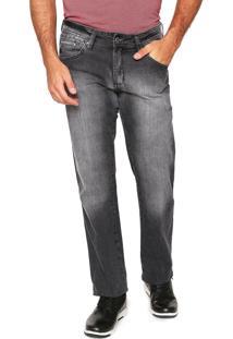 Calça Jeans Aleatory Slim Cinza