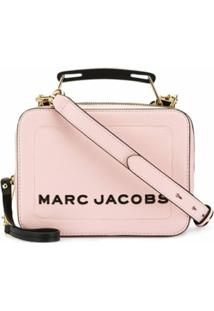 Marc Jacobs Bolsa Baú Mini - Rosa