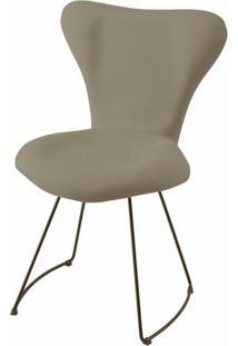 Cadeira Jacobsen Series 7 Cinza Com Base Curve Preta - 49611 Sun House