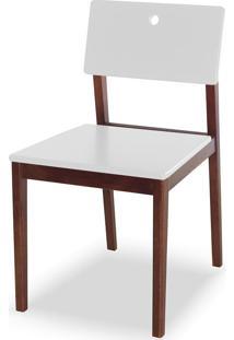 Cadeira Flip 81 Cm 921 Cacau/Branco - Maxima