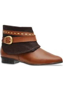 Bota Iod'S Ankle Boot Capuccino