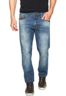 Calça Jeans Colcci John Skinny Pesponto Azul