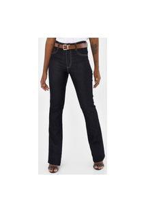 Calça Jeans Sawary Bootcut Belv Amac Azul
